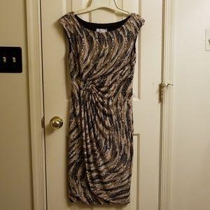 Flattering Animal Print Dress